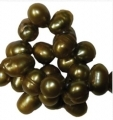 Makeanvedenhelmi Olive 4x6mm