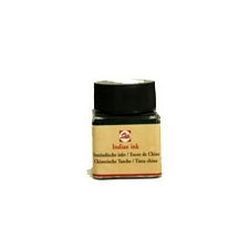 Talens Indian ink musta 30ml