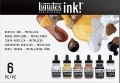 Liquitex ink 6kpl metallivärit